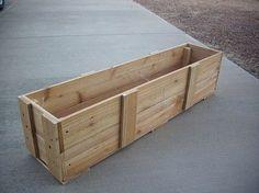 How to Build a Garden Planter Box   eHow.com