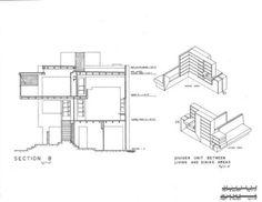 Lovell beach house second floor plan