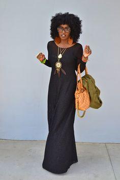 I *really* like this lace maxi dress!!
