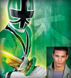 Power Rangers Samurai Green Ranger-Mike