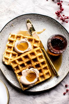 you need these waffles in your weekend brunch rotation, via @MyDomaine