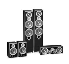 This Infinity Primus 5.0 home theater speaker bundle includes two of the P363 Floorstanding Speakers, 2 of the P153 Bookshelf/Satellite Speakers, and a PC351 Center Channel Speaker. The Infinity Primus® Series - Where Infinity sound begins. Prepare to raise your expectations.