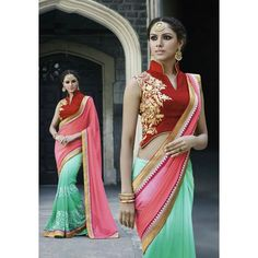 Appreciable Georgette Embroidery Festive Wear & Party Wear Saree at just Rs.1099/- on www.vendorvilla.com. Cash on Delivery, Easy Returns, Lowest Price.