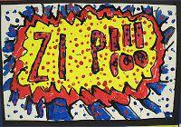 There's a Dragon in my Art Room: Zip, Zap, Zoom, Boom, Pop, Pow!