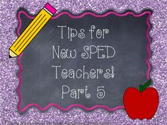 A Special Sparkle: Tips for New Special Ed Teachers: Getting Organized with Your Lesson Plans