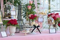 Paris Party - this one is a little girlie.. i'd make it more European. that would be awesome