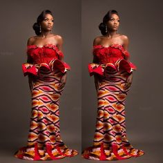 Classy picture collection of Beautiful Ankara Skirt And Blouse Styles These are the most beautiful ankara skirt and blouse trending at the moment. If you must rock anything ankara skirt and blouse styles and design. African Print Dresses, African Fashion Dresses, African Dress, African Attire, African Wear, African Women, African Style, Kente Dress, Ankara Skirt And Blouse