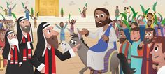 YouVersion | Bringing the Bible into your daily life. Read more abt Palm Sunday, here: Jesus' purpose in riding into Jerusalem was to make public His claim to be their Messiah and King of Israel in fulfillment of Old Testament prophecy.  Read more: http://www.gotquestions.org/triumphal-entry.html#ixzz3Vowz0g7I
