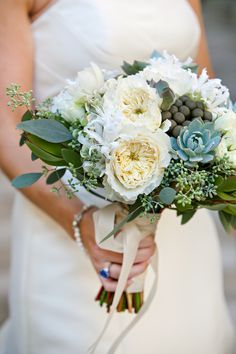 soft blue taupe bouquet - Google Search