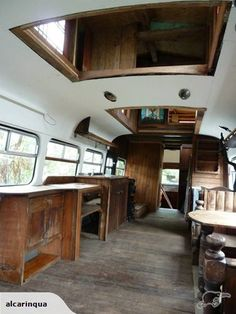Lovely old 1957 bedford. Second storey has been added.