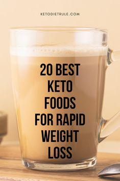 20 best keto foods to eat to lose weight. These keto diet foods are key to reaching ketosis and shifting your body's fuel source to fat from glycogen. Smoothie Detox, Keto Food List, Food Lists, Keto Snacks, Keto Foods, Diabetic Snacks, Best Keto Diet, Keto Diet For Beginners, Keto Meal Plan