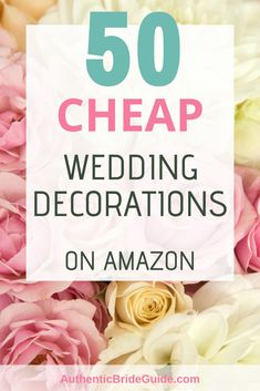 50 cheap wedding decorations on Amazon. Free 2 day delivery as a Prime member. #weddingdecorations #budgetwedding #weddingplanningfordummies #engagedaf #authenticbrideguide #weddingplanninghacks #diyweddingdecorations Wedding Budget Worksheet, Wedding Budget Planner, Wedding Planning Tips, Party Planning, Gift Table Wedding, Diy Wedding Gifts, Wedding Ceremony, Wedding Advice, Wedding Hacks