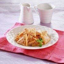 Kue Kering Karamel Tabur Wijen gurih dan lezat