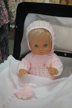 Todo para tu nenuco Plastic Doll, Bitty Baby, Baby Born, Knitted Dolls, 18 Inch Doll, Vintage Dolls, American Girl, Baby Dolls, Doll Clothes