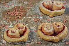 Ribizlis szívek Doughnut, Cheesecake, Muffin, Cookies, Breakfast, Food, Crack Crackers, Morning Coffee, Cheesecakes