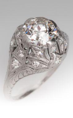 1920's Antique engagement ring