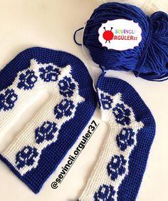 Tunisian Crochet, Knit Or Crochet, Filet Crochet, Baby Knitting Patterns, Stitch Patterns, Crochet Patterns, Winter Socks, Winter Hats, Knitted Slippers