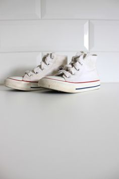 Converse white shoes for baby