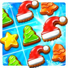 Give this fun, FREE Christmas themed Amazon app a try! Christmas Cookie Fun Match is an entertaining & challenging puzzle game that everyone will enjoy