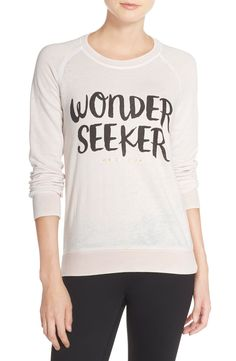 'Wonderseeker' Lightweight Sweatshirt