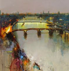 Official website of Peter Wileman PPROI RSMA FRSA, Seascape/Landscape artist. Seeking atmosphere with light and colour in varying degrees of abstraction. Abstract Landscape, Landscape Paintings, Landscapes, Oil Paintings, Abstract Art, Abstract Paintings, Peter Wileman, Royal Society Of Arts, English Artists