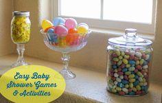 Easy Baby Shower Games & Activities #EviteBabyTrends #paid
