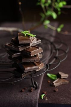 Chocolate Squares #Food