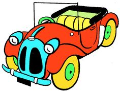 Cars And Toys Clipart - Free Clip Art Images
