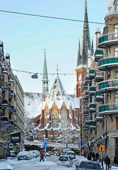 Sweden, Oskar Fredrik Church, Gothenburg