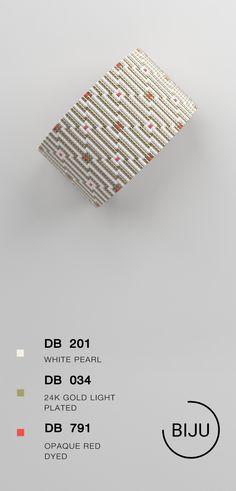 US$4.72 Loom bracelet pattern, loom pattern, miyuki pattern, square stitch pattern, pdf file, pdf pattern, cuff #35BIJU
