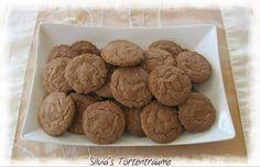 Silvia's Tortenträume: Nutella Cookies... man braucht nur 4 Zutaten und sie sind relativ einfach & fix gemacht