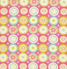 Dena Designs Kumari Garden Fabric - Lalit - Pink
