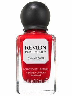Revlon Parfumerie Scented Nail Enamel in China Flower is a bright and juicy color, and it reminds us of all things summer