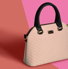 Mini Maisy in quilted dusty pink is our must-have romantic bag! #PaulsBoutique