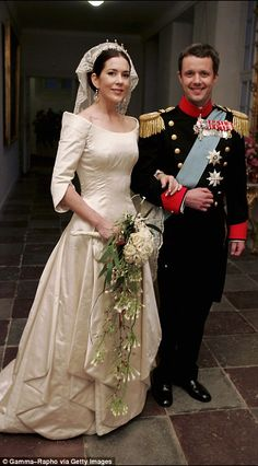British-Australian Mary Donaldson was 32 when she married Denmark's Crown Prince Frederik,...