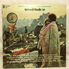3 Lp Woodstock Original Soundtrack & More 1973 Cotillion SD 3-500 Tri-Fold