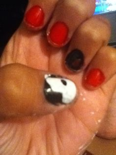Phantom of the opera nails!! :)