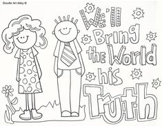 Missionary Work - Religious Doodles - Coloring Home Pages Lds Coloring Pages, Nativity Coloring Pages, Coloring Pages For Girls, Doodle Coloring, Coloring Books, Paul's Missionary Journeys, Toddler Sunday School, Christian Missionary, Bible Bookmark
