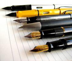 Fountain Pens on Moleskine