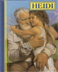 HEIDI Vintage Book by Johanna Spyri and Illustrated by ...