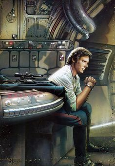 Han Solo the infamous rebel, smuggler and space pirate!