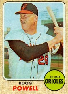 baseball cards powell | ... set name 1968 topps card size 2 1 2 x 3 1 2 number of cards in set 607