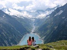 Lake Schlegeis, Austria