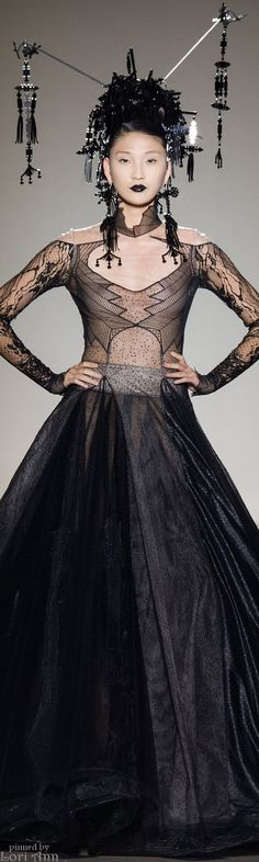 Julien Fournié Haute Couture Fall 2014. The World of Holly Orient.