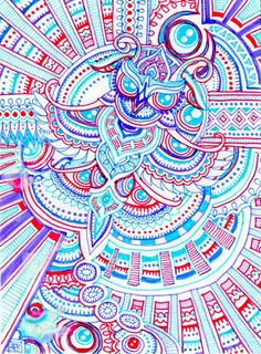 painting ideas for psychedelic using bright colors - Google Search