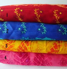 Floral Indian Fabric Cotton, dual print Shibori cotton, tie and dye fabric, choose your color, Half Yard