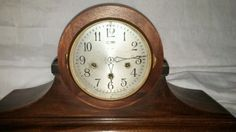Antique Ansonia Westminster Chime Mantle Clock - http://collectibles.goshoppins.com/clocks/antique-ansonia-westminster-chime-mantle-clock/