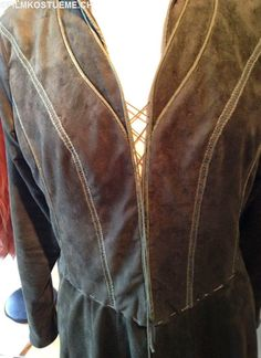filmkostueme.ch: Tauriel suede garb almost finished :)