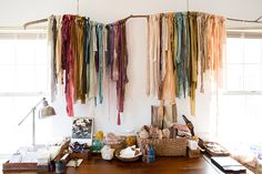 Silk & Willow: A Modern Day Alchemist Specializing in Hand Dyed Silk Natural Dye Fabric, Natural Dyeing, Silk And Willow, Learn Something New Everyday, Diy Wardrobe, Art Journal Techniques, Loom Weaving, Textiles, How To Dye Fabric