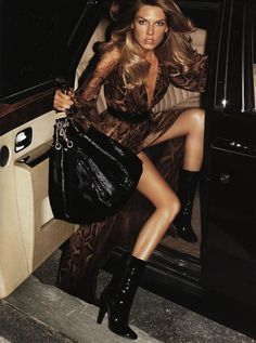 Angela Lindvall for Jimmy Choo by Terry Richardson _